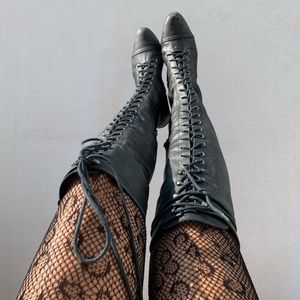 Jeffrey Campbell Free People Joe Boots Sz 7